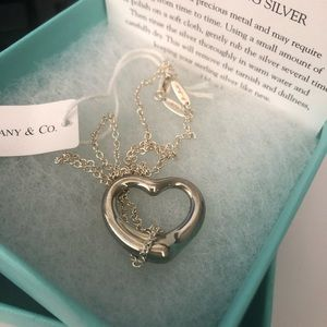 Tiffany & Co Elsa Peretti Open Heart Pendant